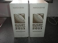 full set [48] 2011 rugby world cup programmes