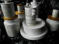 Part Hornea Fluer coffee set 19