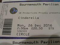 pantomime tickets cinderella