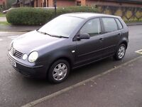 VW POLO TWIST, AUTOMATIC,2004, FULL SERVICE HISTORY,LOW MILEAGE