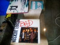 12inch Michael Jackson - Bad Vinyl Record.