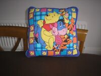 Beautifully illustrated Winnie the Pooh cushion from smoke and pet free home. Immaculate. £4
