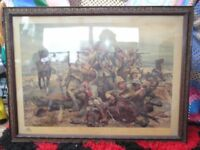 100% original boer war print.