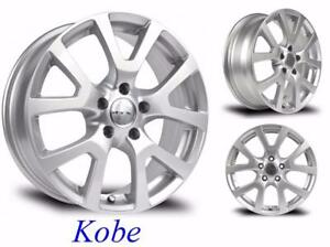 Roues (Mags) Hiver 17'' Rogue-Juke-Murano...  Kobe Argent NEUVES
