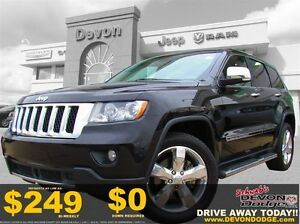 2013 Jeep Grand Cherokee Overland // Accident Free