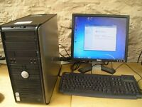 Dell Optiplex 755 PC Tower, Intel Core 2 Duo E6750 @ 2.66 GHz, Windows 7 Home Pemium