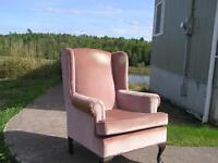 Wing chair, clean condition