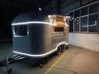 Airstream Catering Trailer Burger Van Pizza Trailer Food Cart 4000x2000x2300