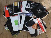 Job Lot of Hiphop Vinyl - 120+