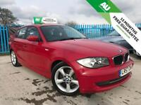 BMW 1 SERIES 2.0 118D SE 5d 141 BHP 15 MONTHS FREE WARRANTY CHEAP TAX BRACKET (red) 2007