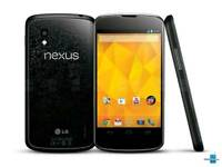 Nexus 4 black 16gb box and charger