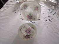 Vintage Hammersley and co bone china trio