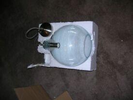 Brand new Selsey glass pendant ceiling light