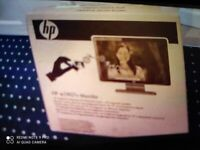 Cheap. Hp Monitor. Brand New boxed. Collect today cheap