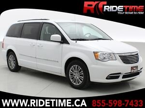 2015 Chrysler Town  Country Touring-L - Leather, Backup Camera,