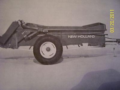 Original New Holland Parts Manual-329 Manure Spreader