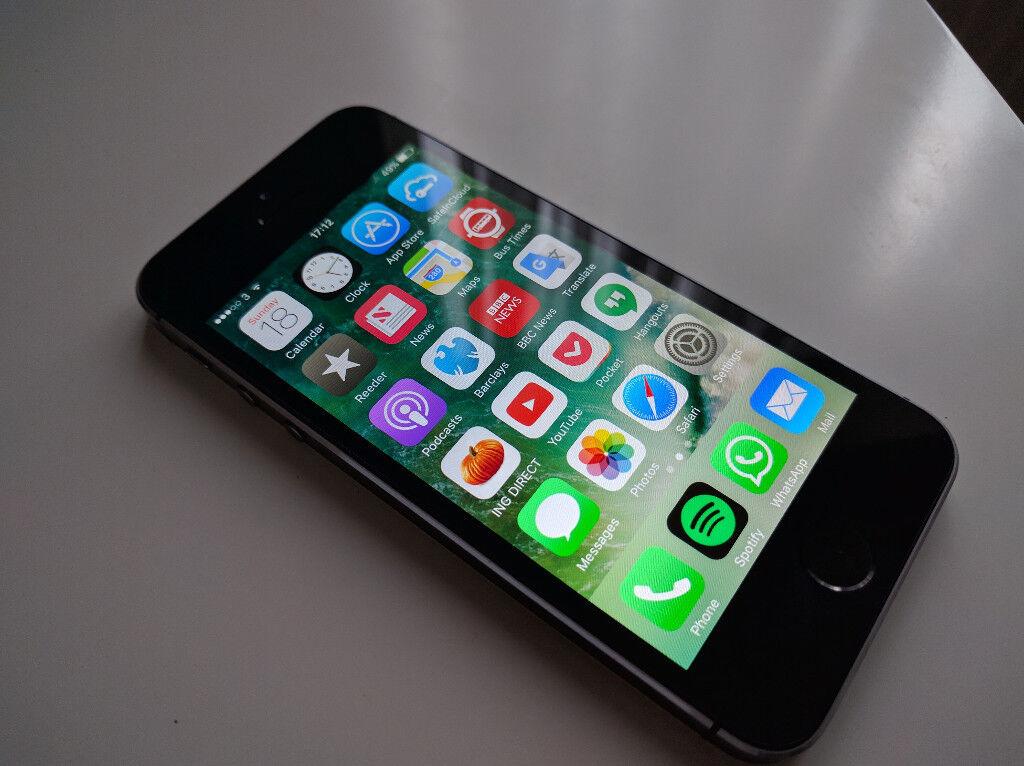 Iphone 5S, 16GB – good condition - locked to Three