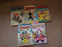 Assorted Children's Annuals from 70s 80s 90s