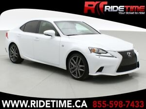 2015 Lexus IS 250 AWD - F Sport Package, Roija Red Leather Inter