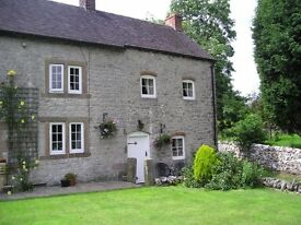 Country cottage in Parwich. Near Derby /Bakewell/Buxton/Ashbourne/Uttoxetor
