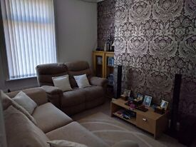2 bed unfurnished house
