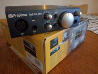 Presonus Audiobox iOne, audio interface for PC/iPad/Mac
