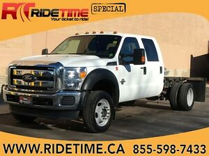 2014 Ford Super Duty F-450 DRW XLT 4WD - Crew Cab & Chassis