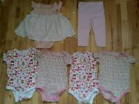Baby Girls Summer Clothes Bundle Size 6-9 Months