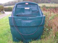 bunded Diesel storage tank