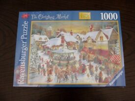 RAVENSBURGER LIMITED EDITION CHRISTMAS 2007 JIGSAW NEW AND SEALED