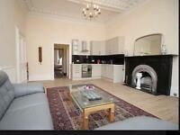 Central two bedroom Victorian ground floor flat+ garden+ parking .. Festival let
