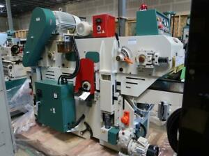 GRIZZLY 18 Double-Sided Planer W/ Spiral Cutterhead