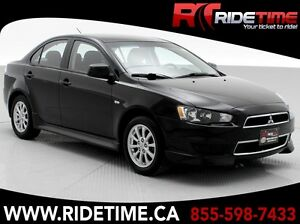 2013 Mitsubishi Lancer SE - Automatic, Alloy Wheels