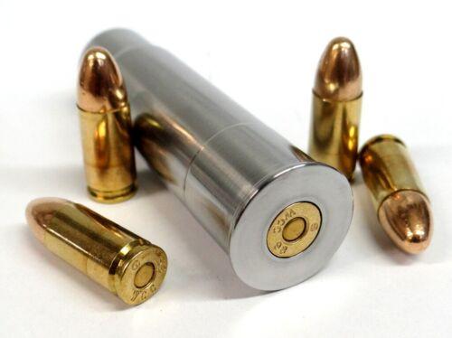 12GA to 9MM RIFLED Shotgun Adapter - Chamber Reducer - Stainless - Free Shipping