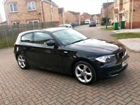 BMW 1 SERIES 116i 3 DOOR BLACK, MOT NOV 2018, LOW MILEAGE, JUST SERVICED, HPI CLEAR