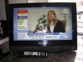 """AKURA 22"""" LCD TV 12 V"""