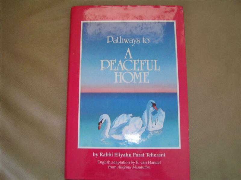 Jewish Guide to Anger & a Peaceful home book English by Rabbi Teherani