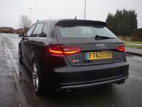 2013 (63) Audi S3 Quattro DSG Sportback sat nav px