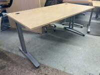 Straight desks £45 each 160cm length 80cm depth