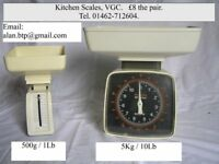 Two Kitchen Scales