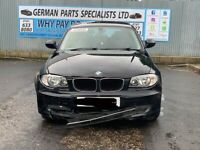 BMW 116i E87 N43B20 ENGINE, GS6-17BG GEARBOX 3.38 REAR DIFF BREAKING PARTS