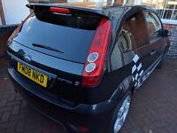 Ford fiesta 1.6 tdci s type, 30 pound road tax and Mot with no advisory