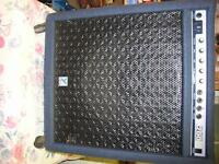 Yorkville Bassmaster 200 Amp and Fender Twin Head Cab