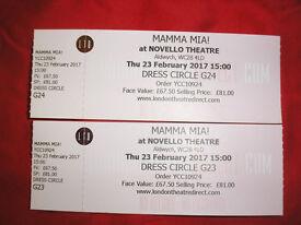 Mama Mia Tickets for Sale London