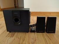 Wharfedale 2.1 speakers 20W