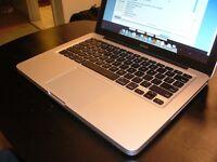 Refurbished Macbook Pro 13, C2D, 8GB, 250 GB SSD, Nvidia Chip