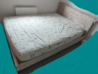 5ft King Size Bed Frame - Less than 1 yr, in Ex Condition