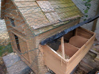 3 yr old wooden Chicken House - £30.00