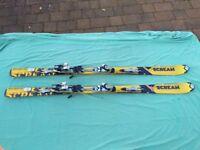 Salomon Scream skis and bindings - Gents
