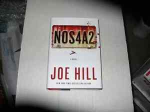 SIGNED BOOK BY STEPHEN KING'S  SON  JOE HILL
